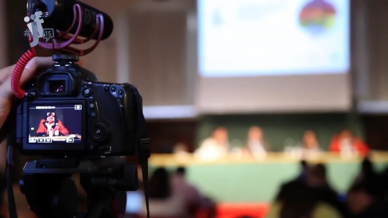 INTERNATIONAL JOURNALISM FESTIVAL <br> Il progetto video per un grande festival